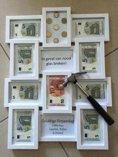Vaak zeggen ze dat geld cadeau geven saai is..